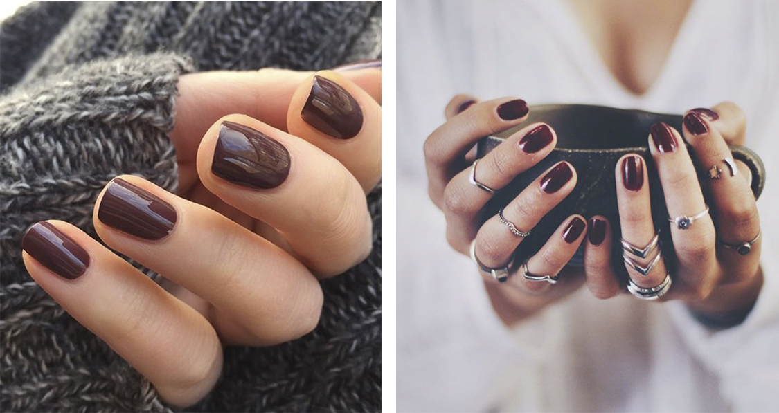 The nail polish color bets for the winter of 2021