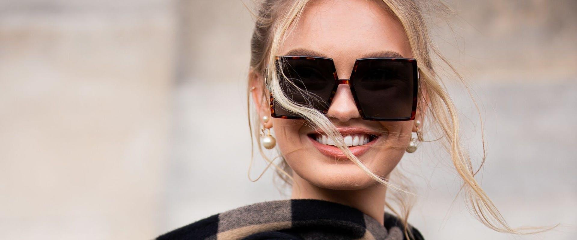Sunglasses - essential even in winter