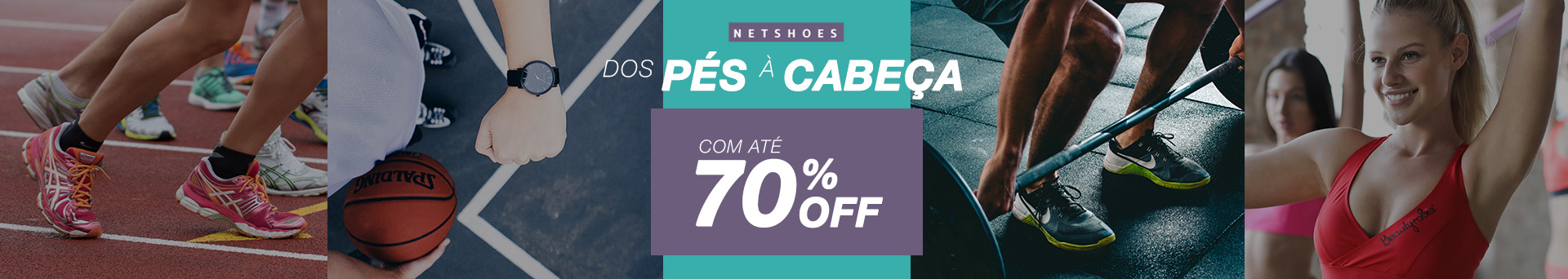 Netshoes banner home